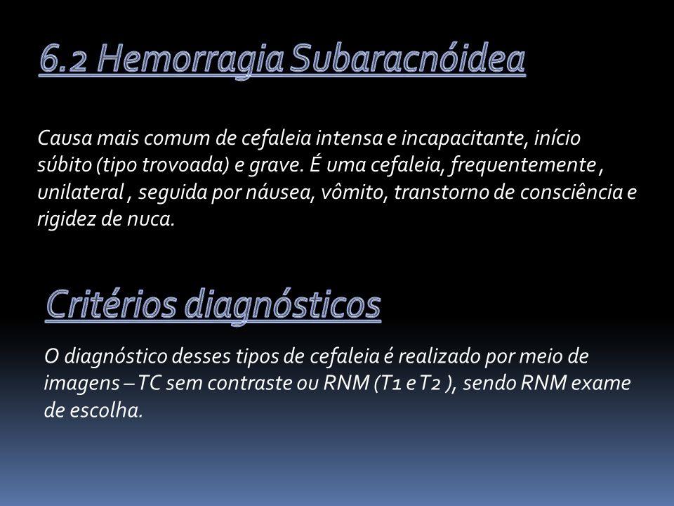 6.2 Hemorragia Subaracnóidea