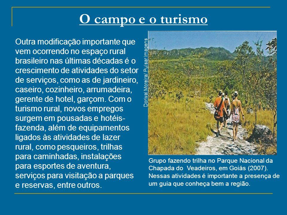 O campo e o turismo