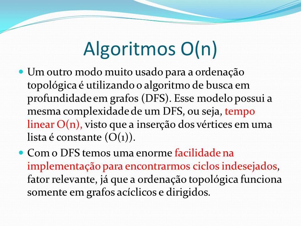 Algoritmos O(n)
