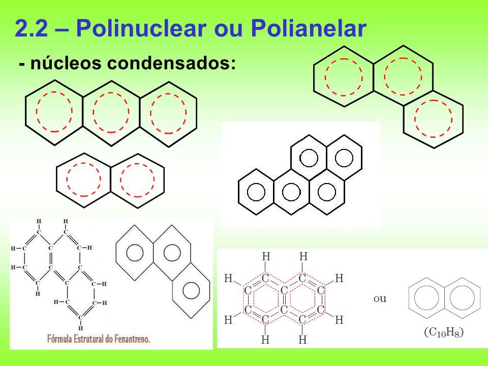 2.2 – Polinuclear ou Polianelar