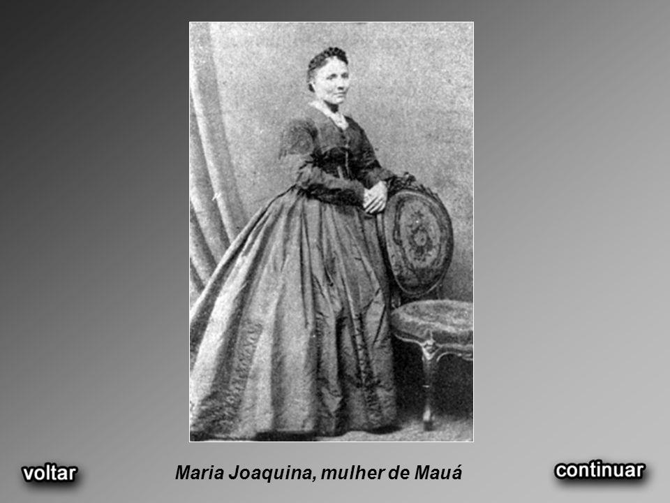 Maria Joaquina, mulher de Mauá