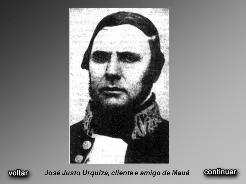 José Justo Urquiza, cliente e amigo de Mauá
