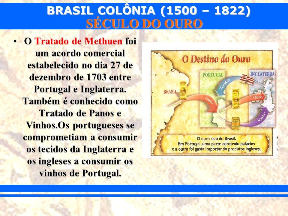 O Tratado de Methuen foi um acordo comercial estabelecido no dia 27 de dezembro de 1703 entre Portugal e Inglaterra.