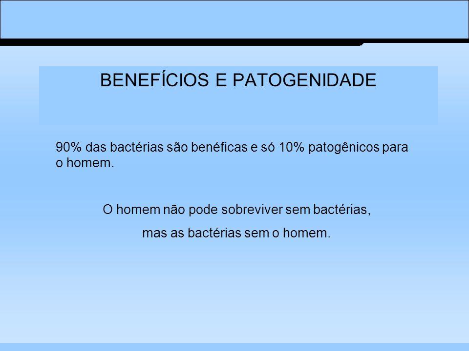 BENEFÍCIOS E PATOGENIDADE