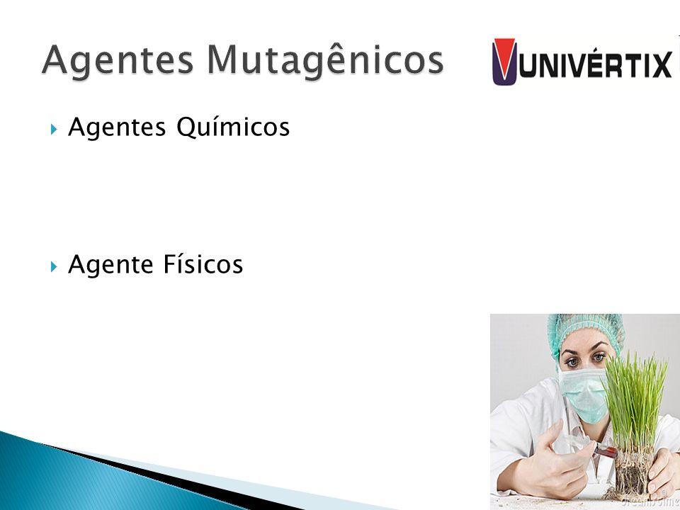 Agentes Mutagênicos Agentes Químicos Agente Físicos
