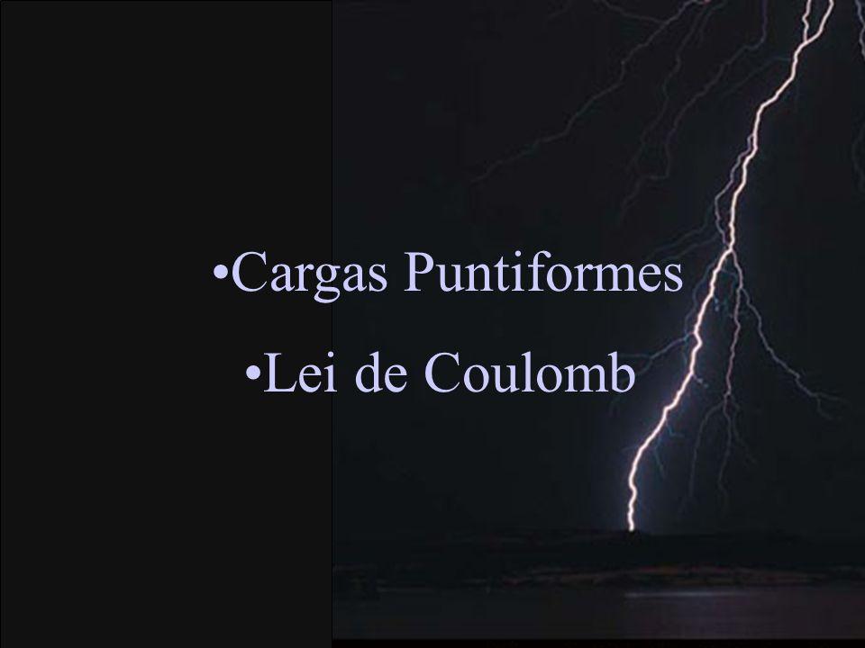 Cargas Puntiformes Lei de Coulomb