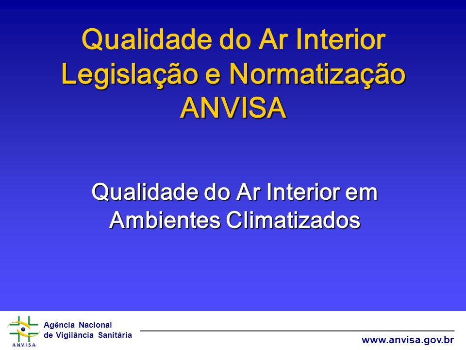 Qualidade do Ar Interior Legislação e Normatização ANVISA
