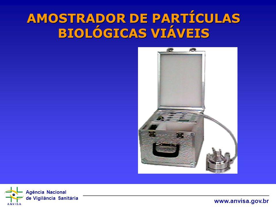 AMOSTRADOR DE PARTÍCULAS BIOLÓGICAS VIÁVEIS