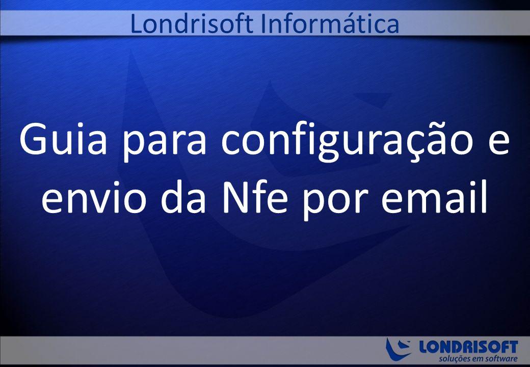 Guia para configuração e envio da Nfe por email