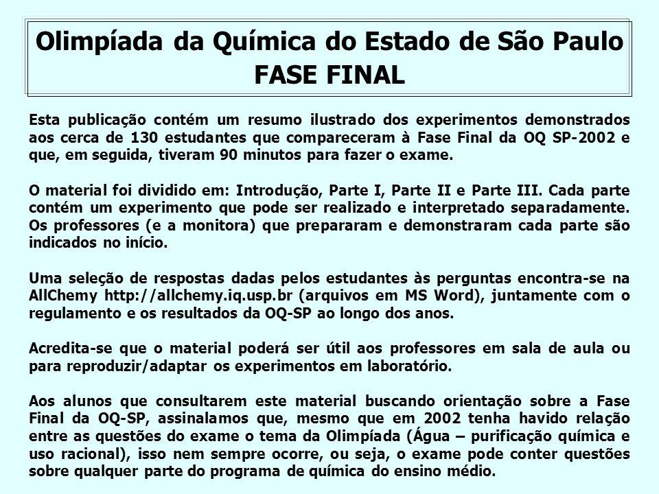 Olimpíada da Química do Estado de São Paulo
