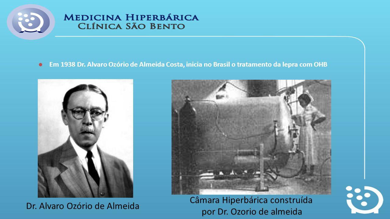 Câmara Hiperbárica construída por Dr. Ozorio de almeida