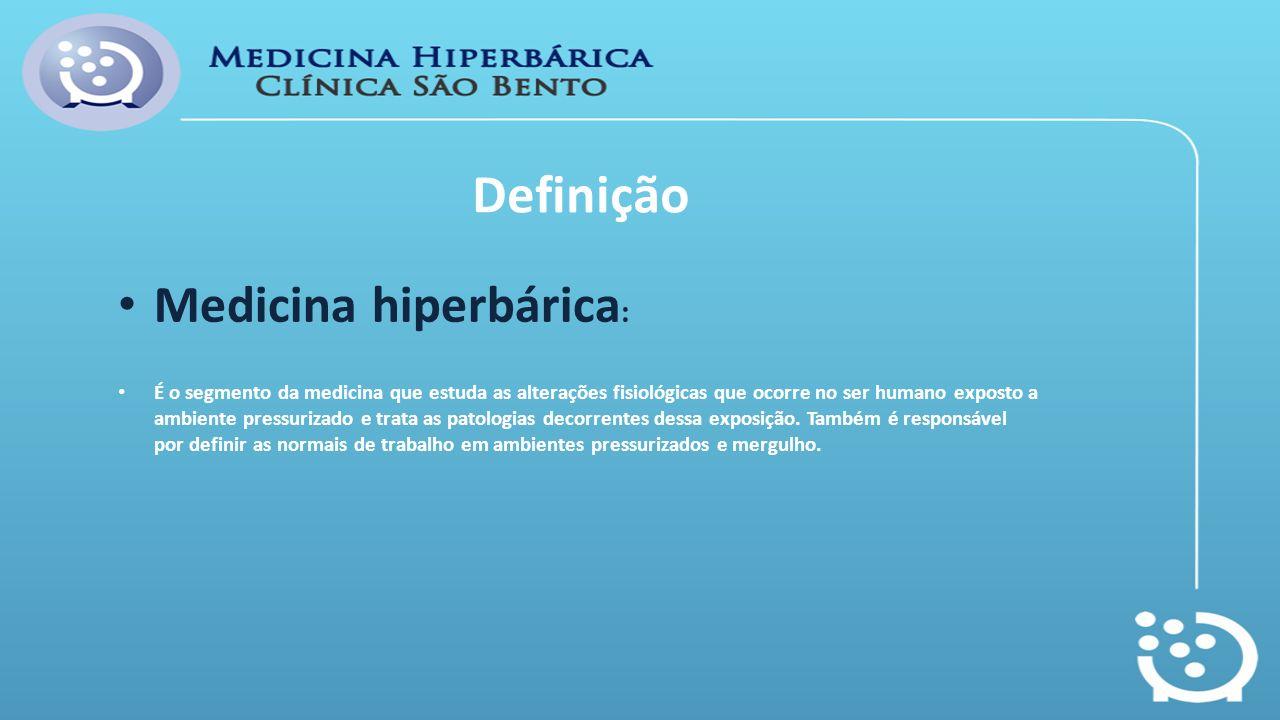 Definição Medicina hiperbárica: