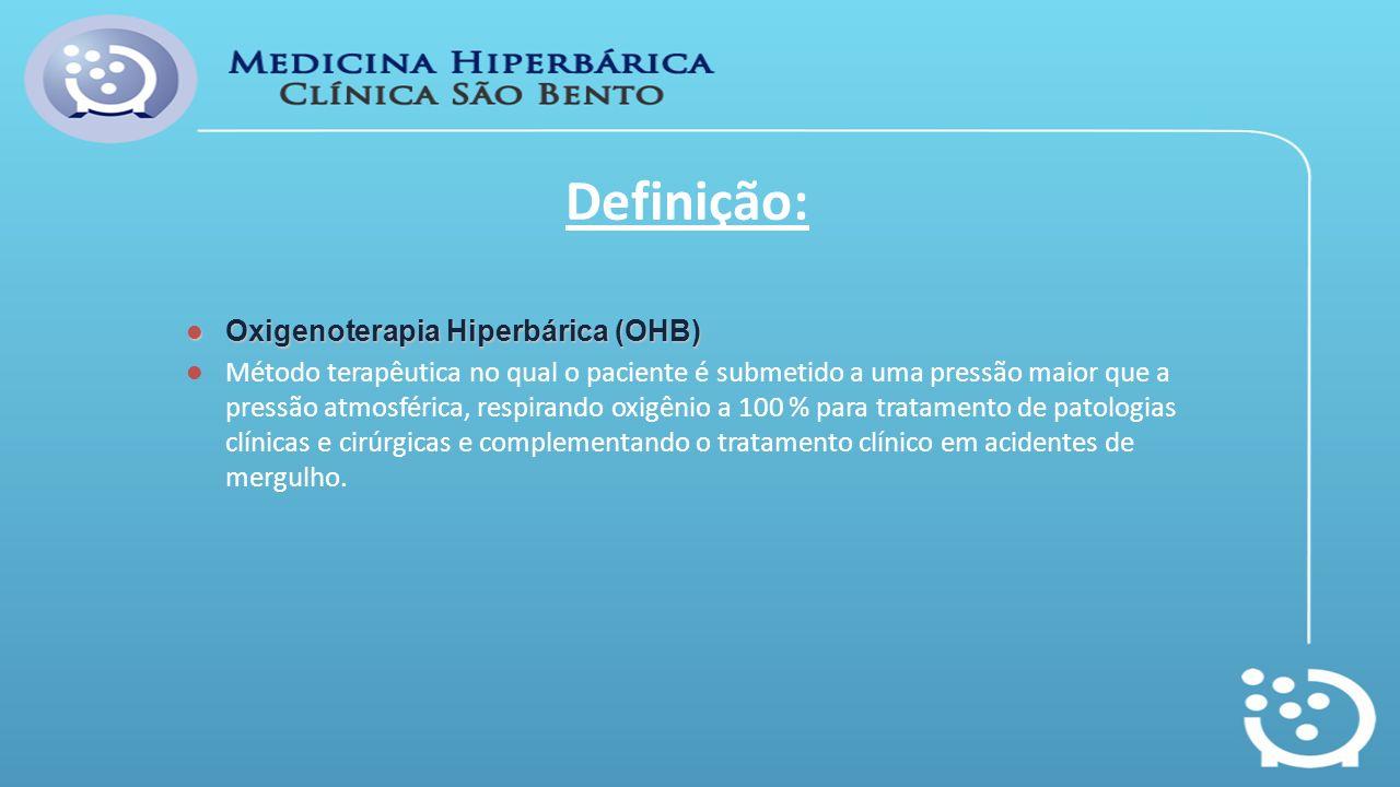 Definição: Oxigenoterapia Hiperbárica (OHB)
