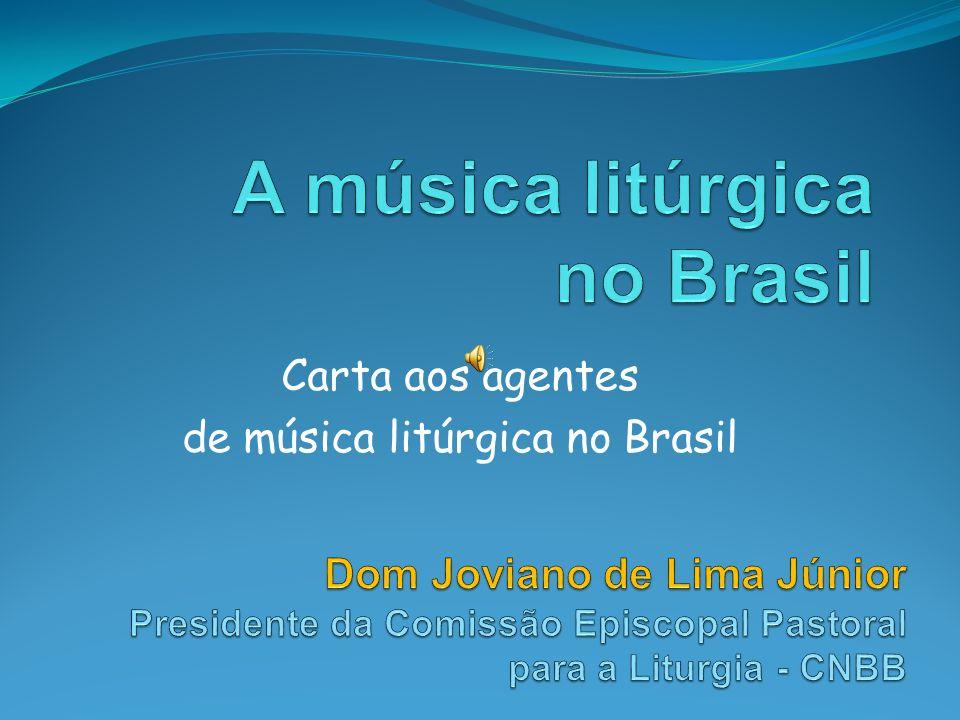 A música litúrgica no Brasil