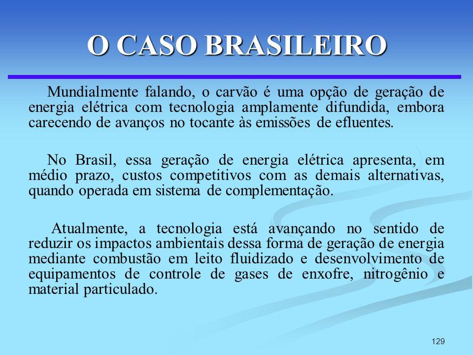O CASO BRASILEIRO
