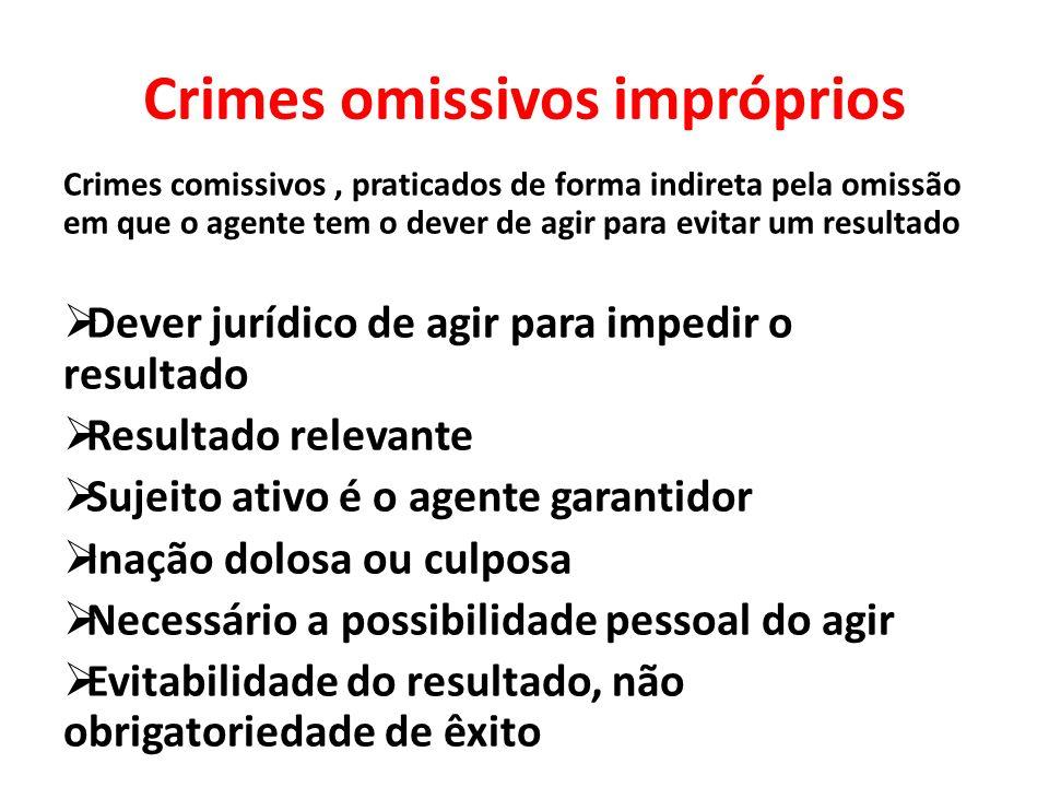 Crimes omissivos impróprios