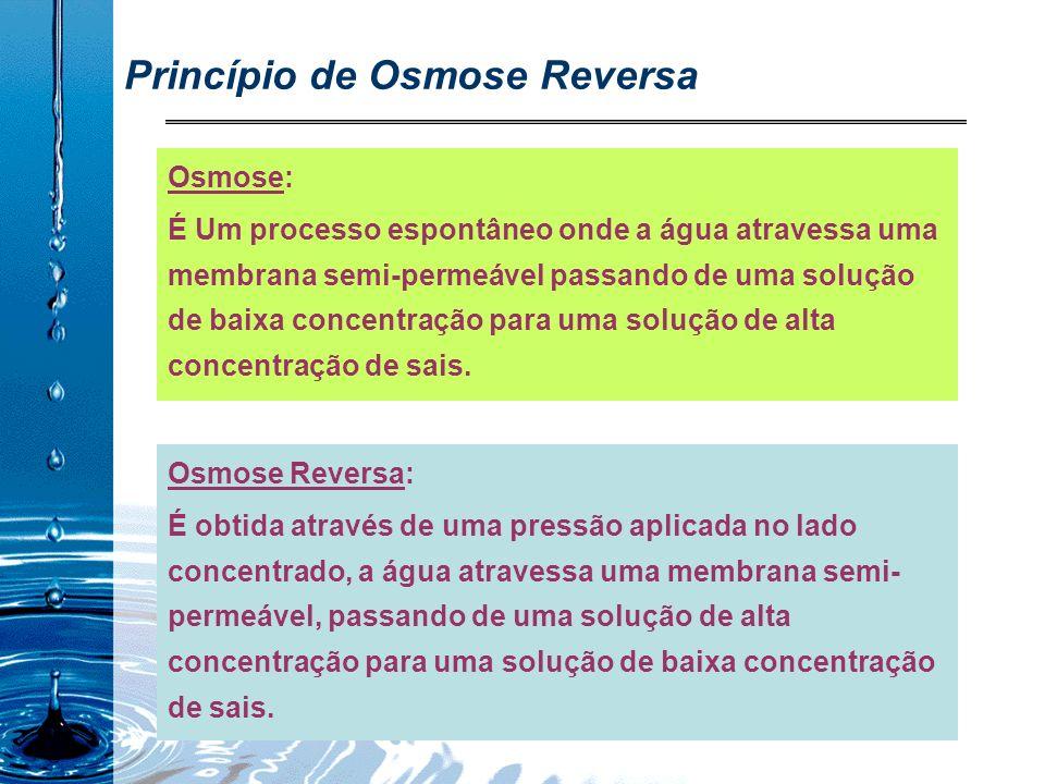 Princípio de Osmose Reversa