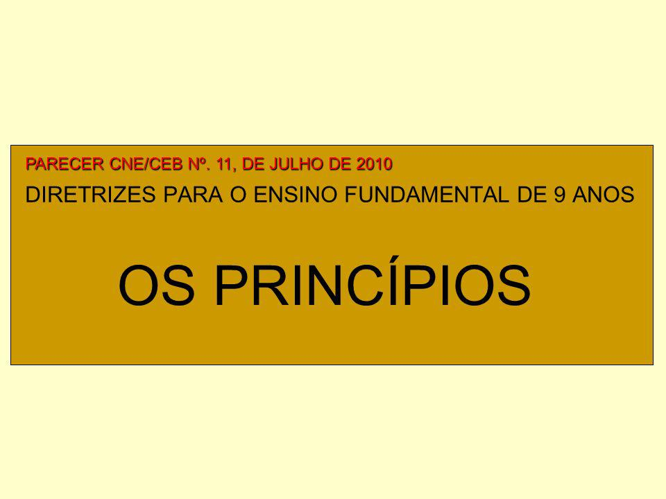 DIRETRIZES PARA O ENSINO FUNDAMENTAL DE 9 ANOS