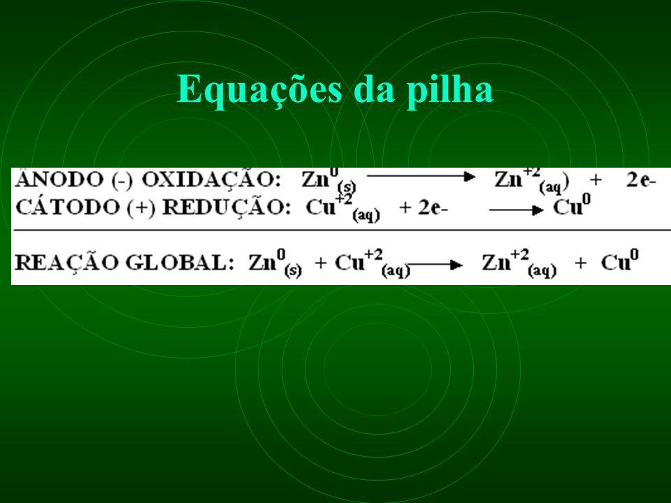 Equações da pilha
