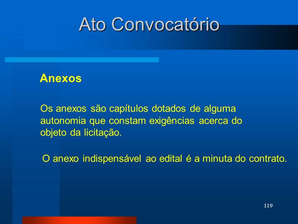 Ato Convocatório Anexos
