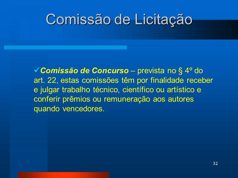 Comissão de Licitação