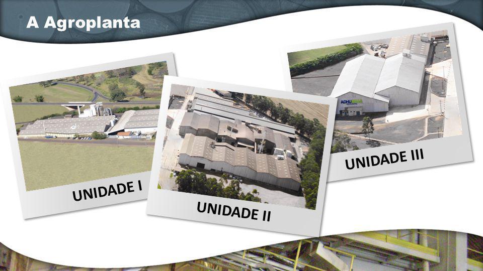A Agroplanta UNIDADE III UNIDADE I UNIDADE II