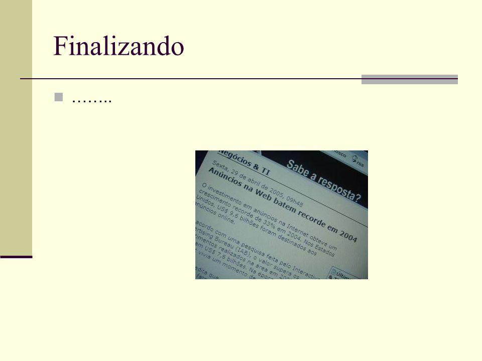 Finalizando ……..