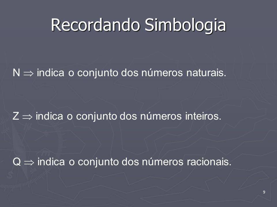 Recordando Simbologia