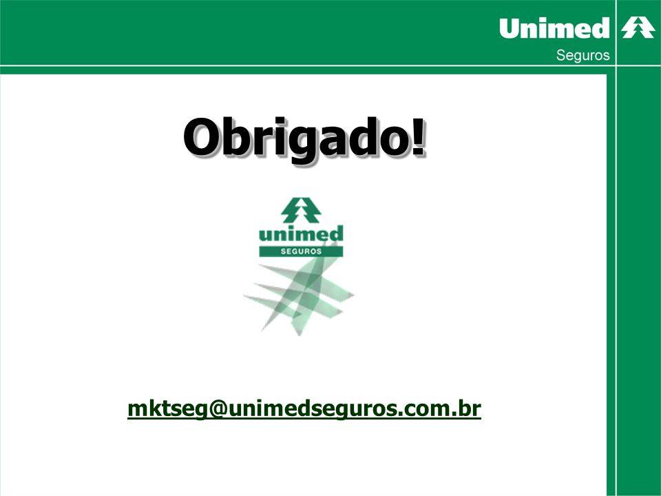 Obrigado! mktseg@unimedseguros.com.br