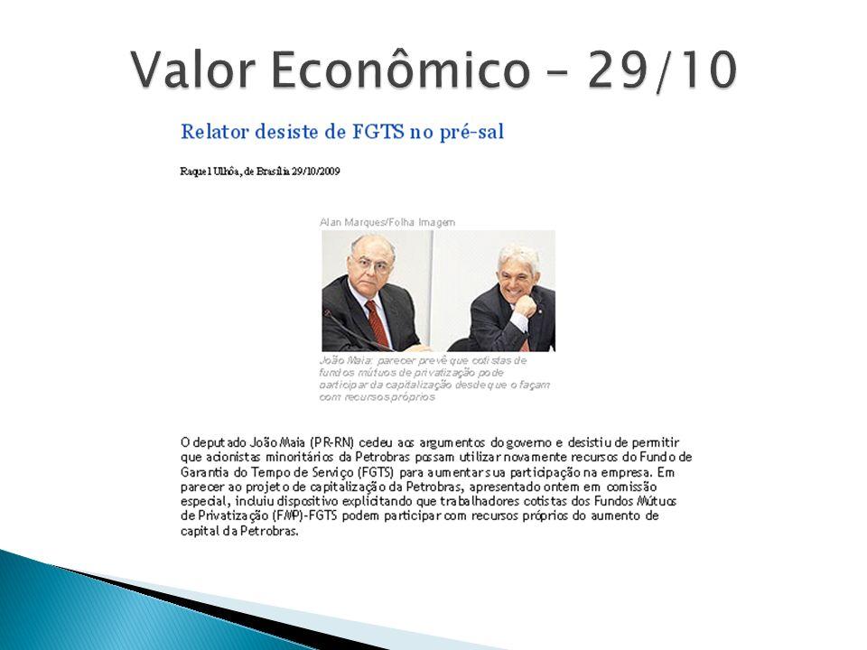Valor Econômico – 29/10