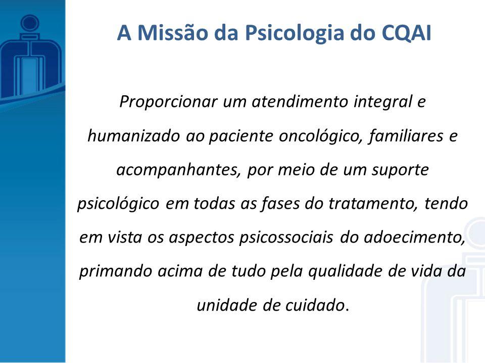 A Missão da Psicologia do CQAI