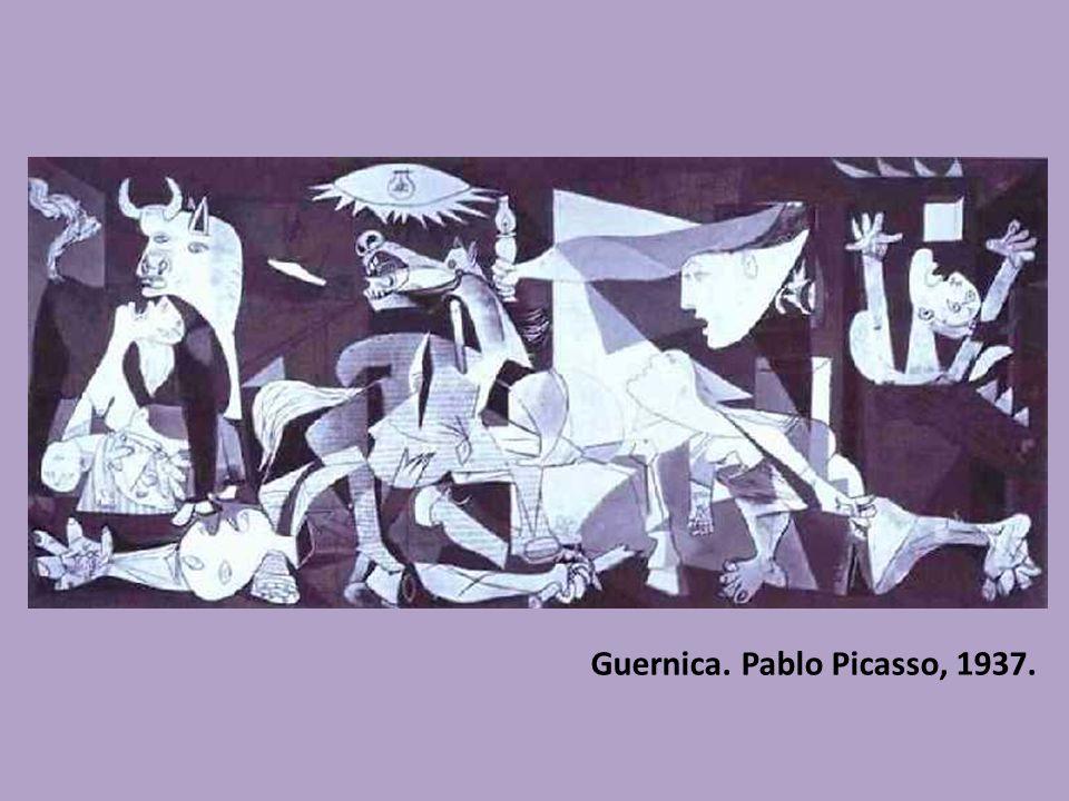 Guernica. Pablo Picasso, 1937.