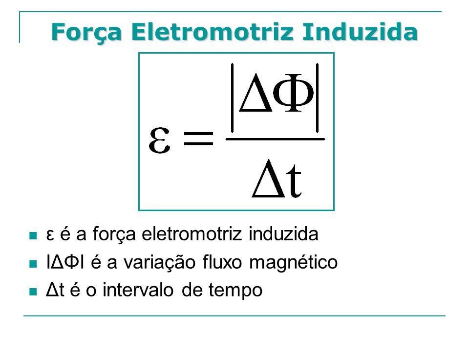 Força Eletromotriz Induzida