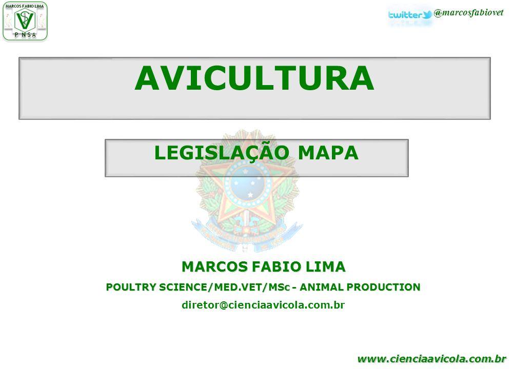 POULTRY SCIENCE/MED.VET/MSc - ANIMAL PRODUCTION