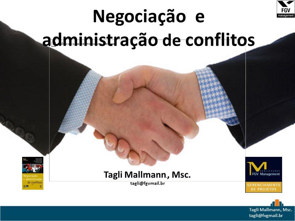 Negociação e administração de conflitos
