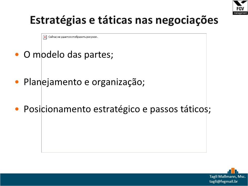 Estratégias e táticas nas negociações