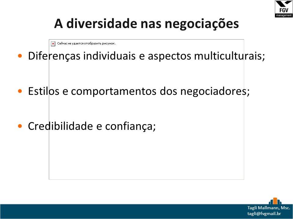 A diversidade nas negociações