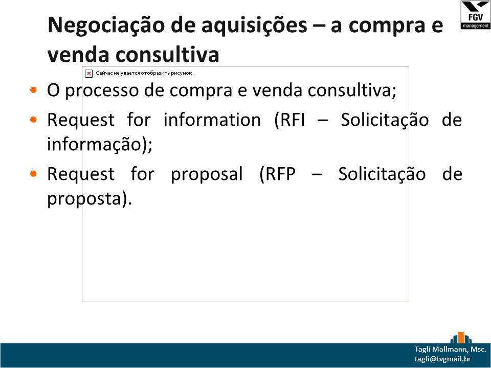 Negociação de aquisições – a compra e venda consultiva