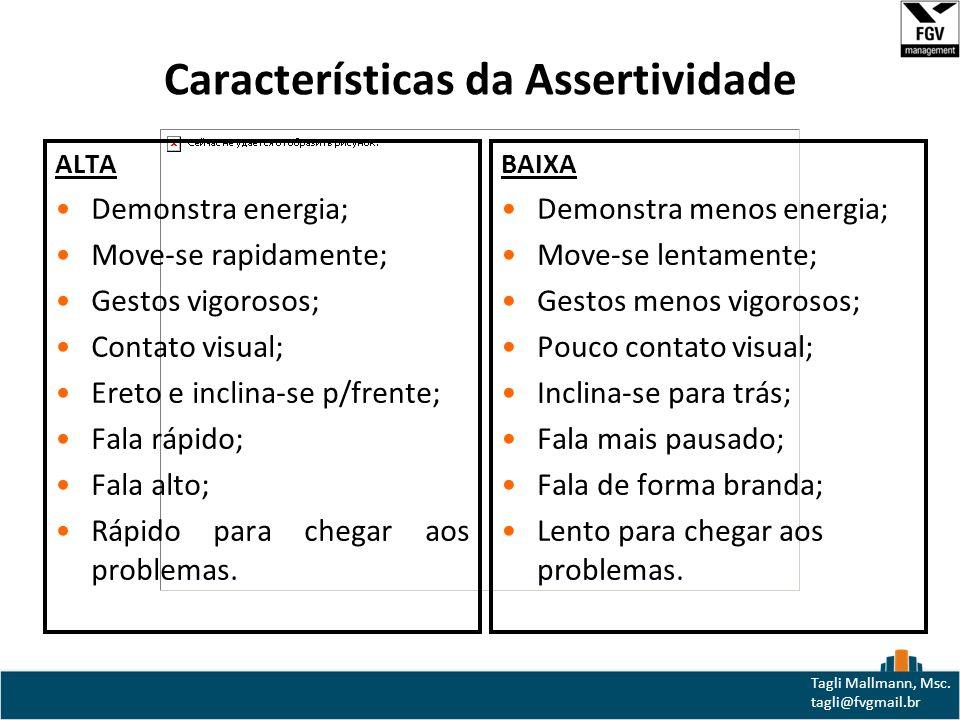 Características da Assertividade