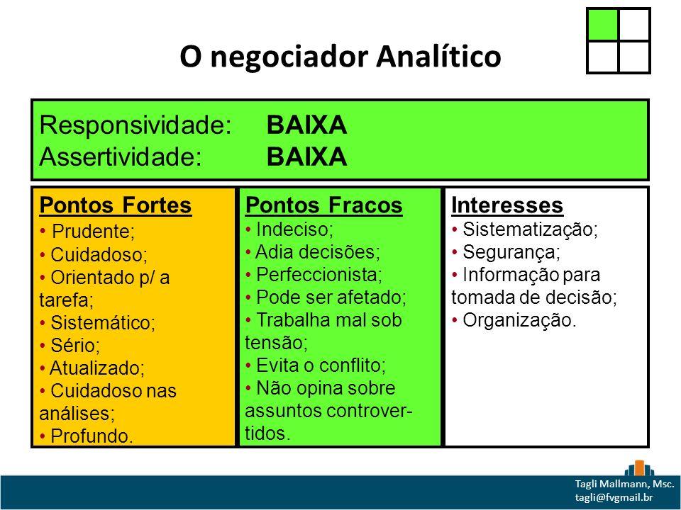 O negociador Analítico