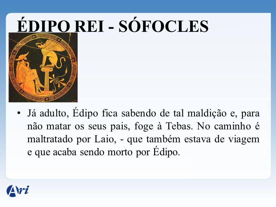 ÉDIPO REI - SÓFOCLES