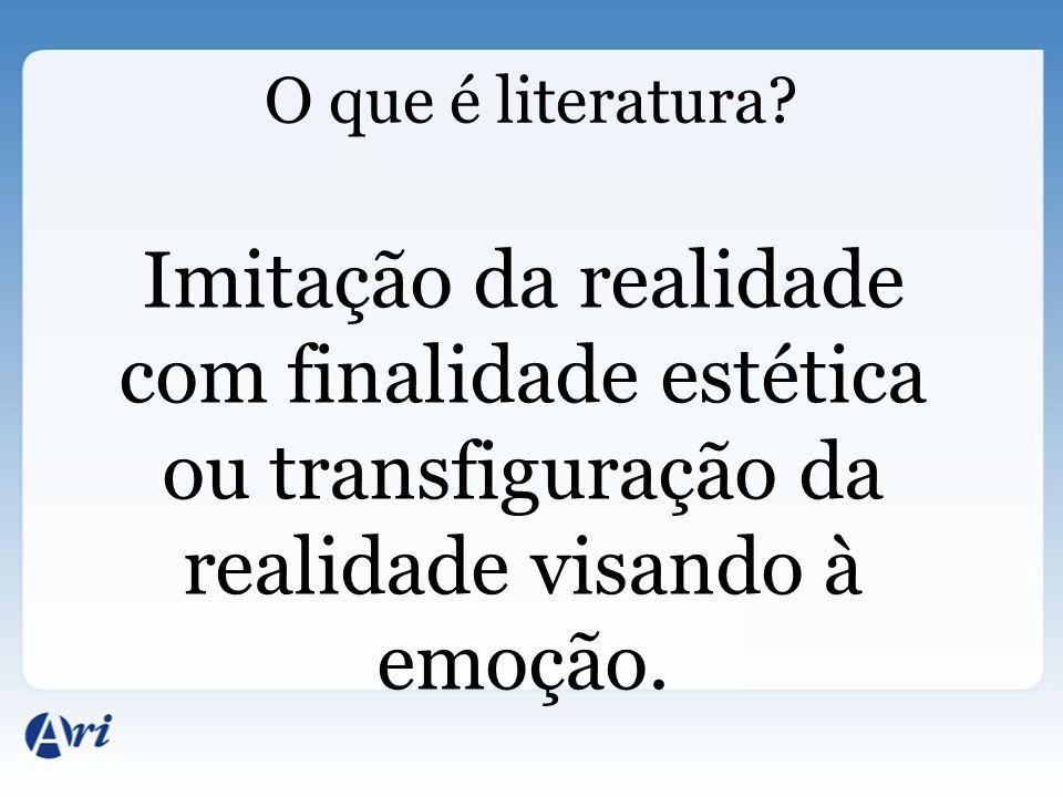 O que é literatura.