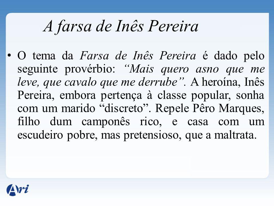 A farsa de Inês Pereira
