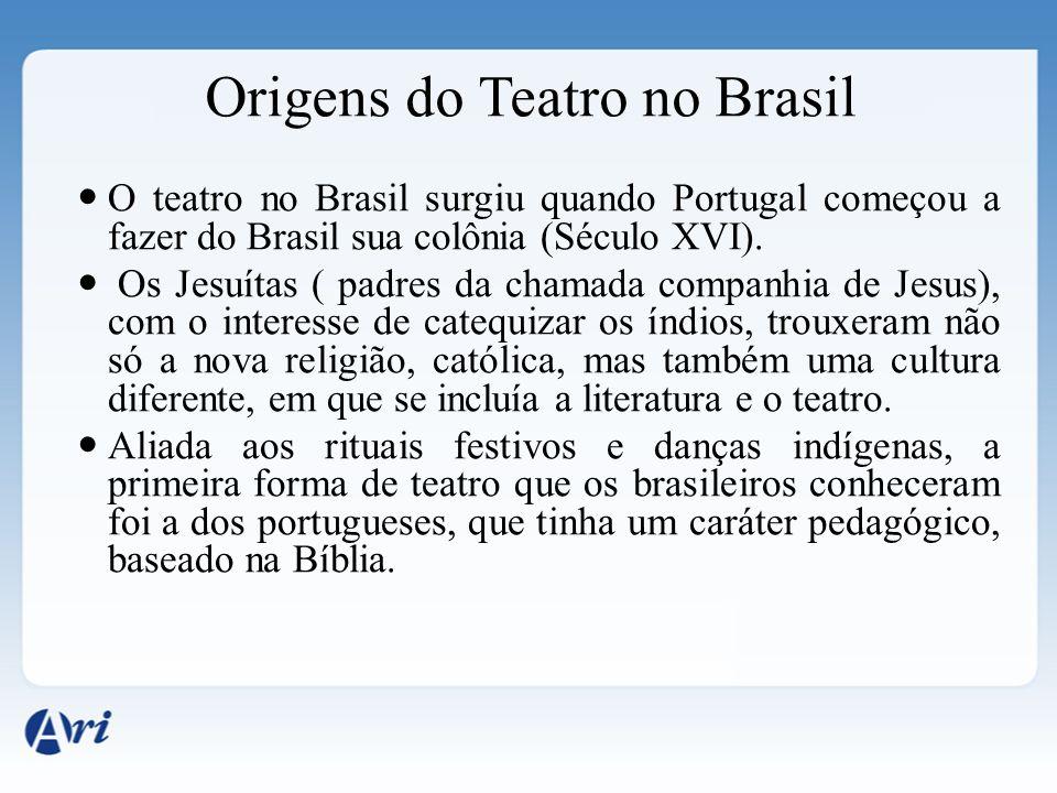 Origens do Teatro no Brasil