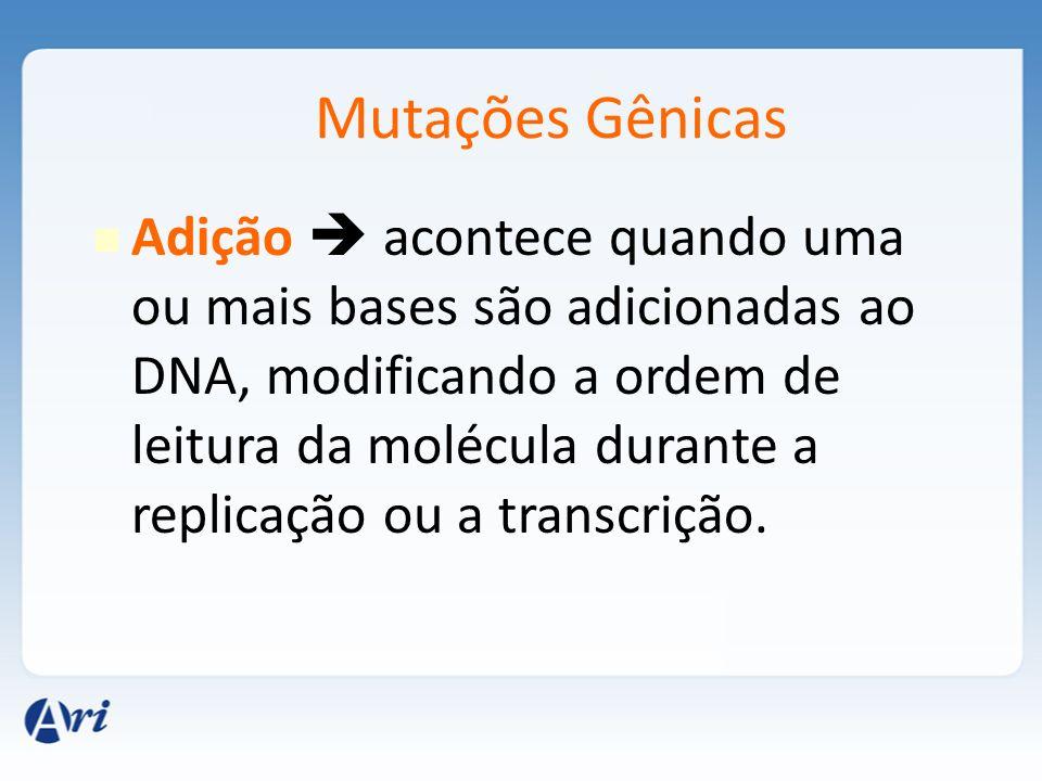 Mutações Gênicas