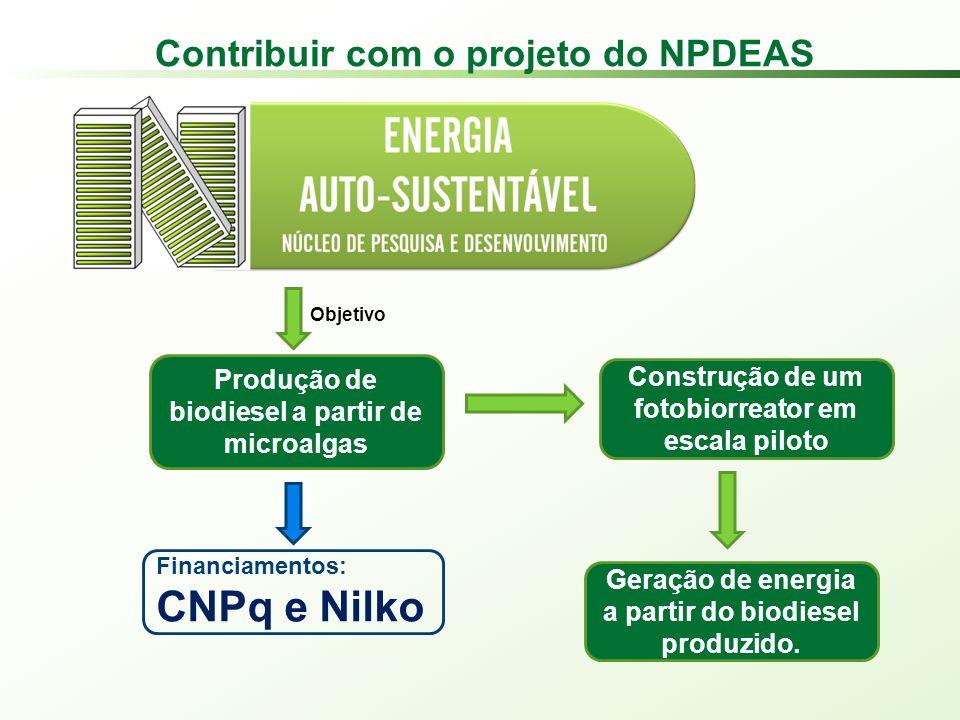 Contribuir com o projeto do NPDEAS