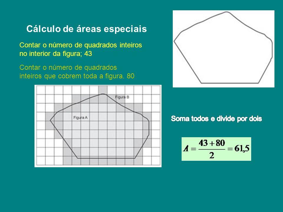 Cálculo de áreas especiais