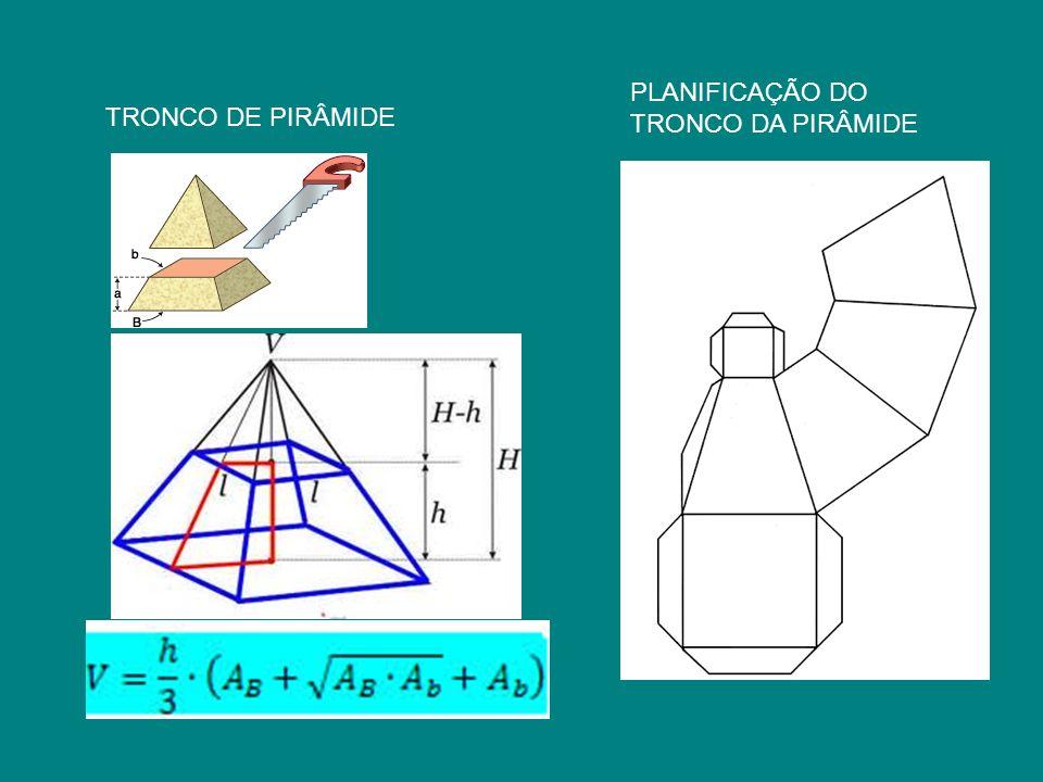PLANIFICAÇÃO DO TRONCO DA PIRÂMIDE