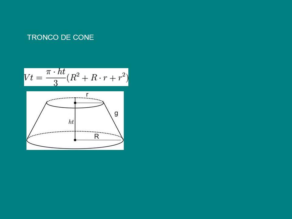 TRONCO DE CONE