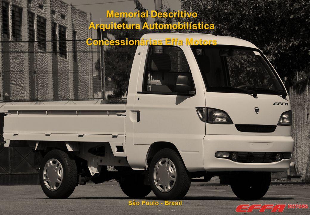 Arquitetura Automobilística Concessionárias Effa Motors